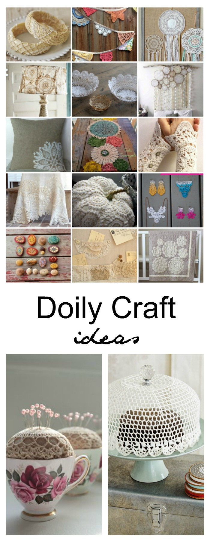 Doily Crafts Luxury Diy Doily Craft Ideas the Idea Room Of Contemporary 47 Photos Doily Crafts