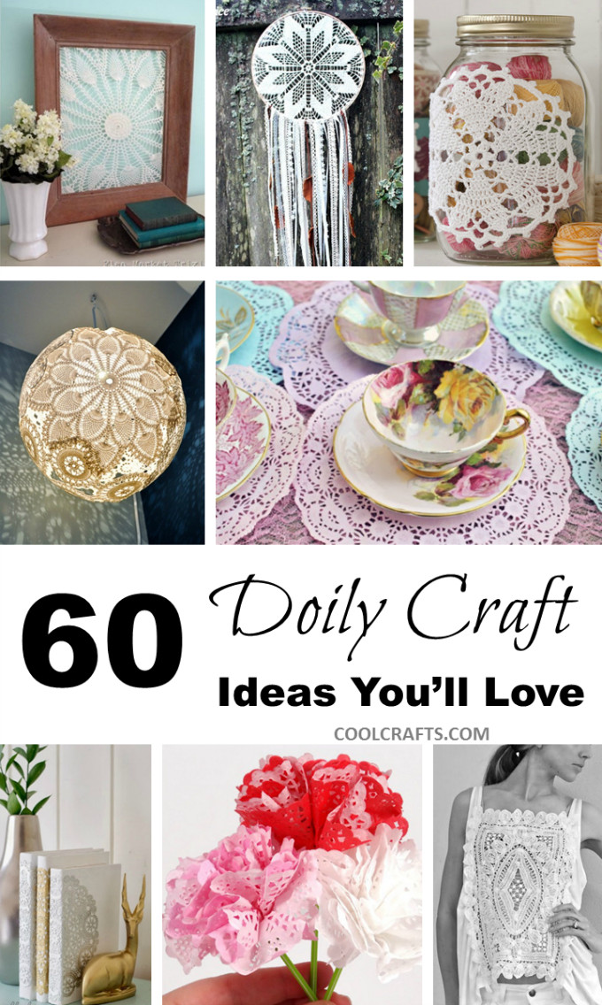Doily Crafts New 60 Diy Fabric & Paper Doily Crafts Of Contemporary 47 Photos Doily Crafts