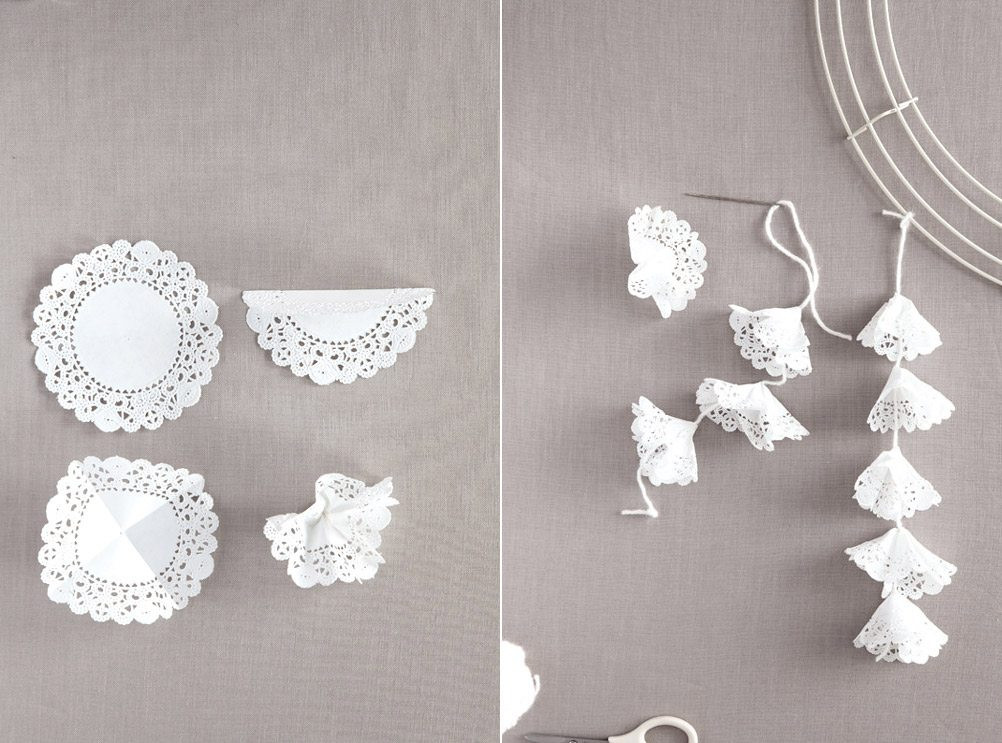 Doily Crafts Unique Diy Paper Doily Craft Ideas From Martha Stewart Weddings Of Contemporary 47 Photos Doily Crafts