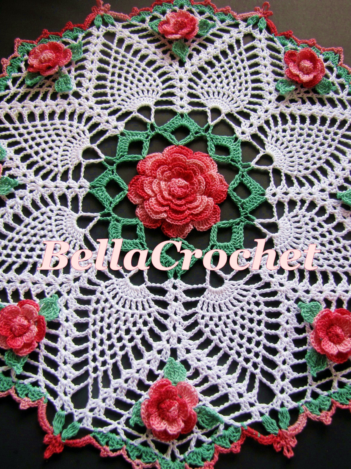 Doily Patterns Best Of Bellacrochet Dorothy S Roses Doily A Free Crochet Of Innovative 50 Models Doily Patterns