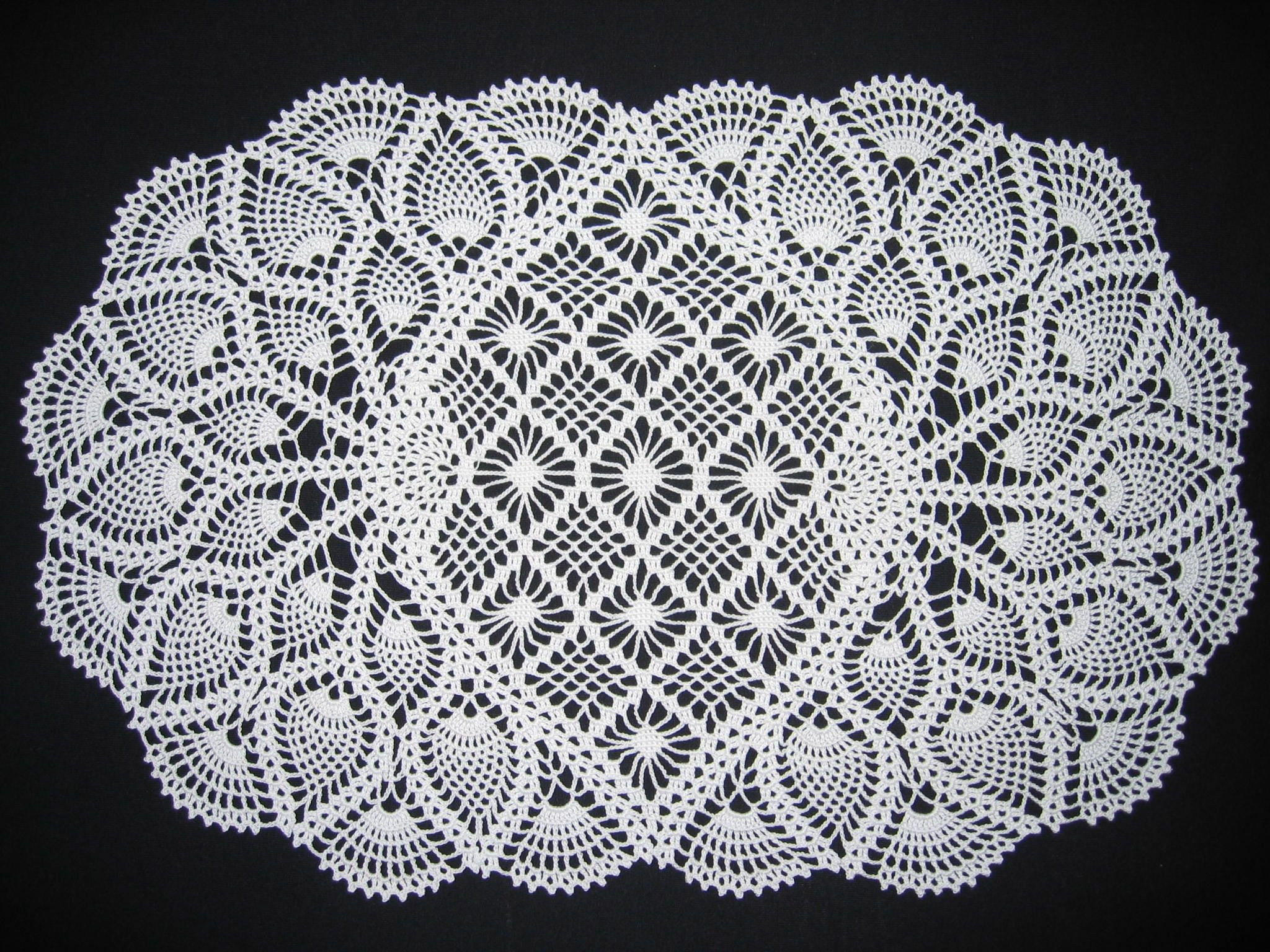 Doily Patterns Best Of Pineapple Doily Crochet Pattern – Craftbnb Of Innovative 50 Models Doily Patterns