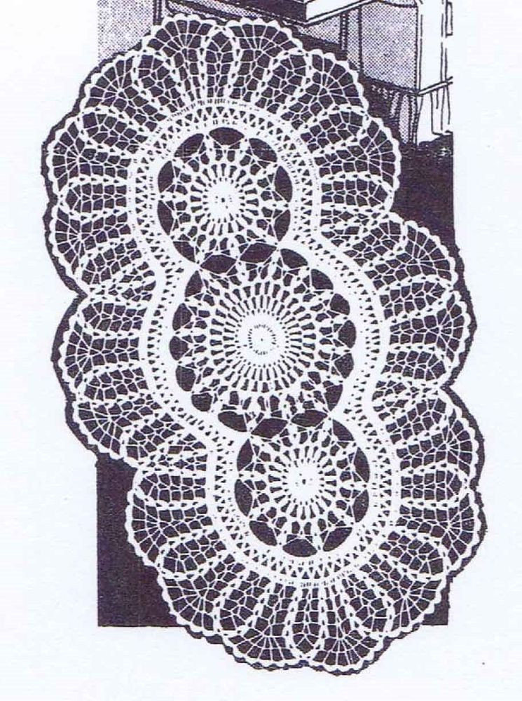 Doily Patterns Best Of Vintage Crochet Pattern 508 Oval Doily 3 Sizes 13×22 15×26 Of Innovative 50 Models Doily Patterns