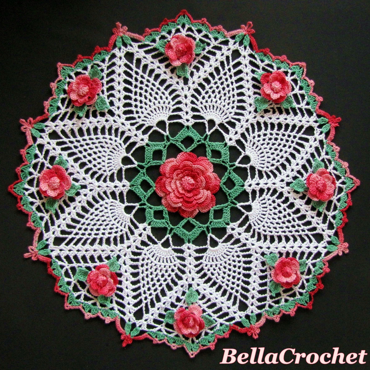 Doily Patterns Fresh Bellacrochet Dorothy S Roses Doily A Free Crochet Of Innovative 50 Models Doily Patterns