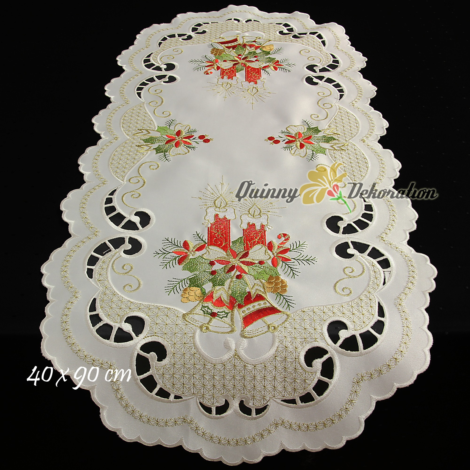 Christmas Tablecloth Table runner Doily Cushion cover