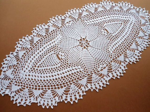Doily Tablecloth Awesome Oval Crochet Doily Tablecloth Lace Runner by Of Charming 49 Pictures Doily Tablecloth