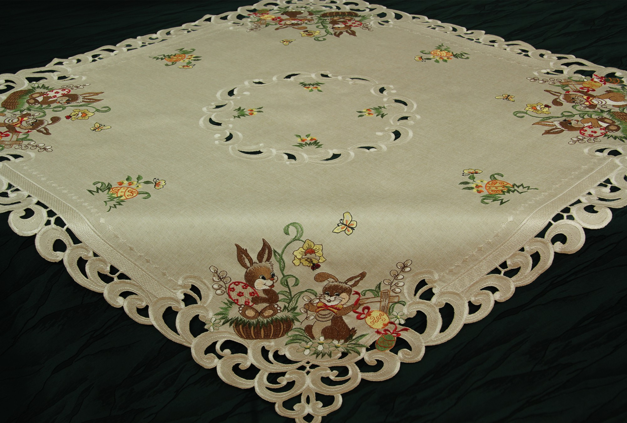 Doily Tablecloth Elegant Easter Table Runner Doily Tablecloth Linen Look Beige Of Charming 49 Pictures Doily Tablecloth