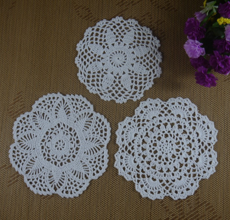 Doily Tablecloth Elegant Free Shipping 30piece Handmade Crochet Pattern Doily 3 Of Charming 49 Pictures Doily Tablecloth