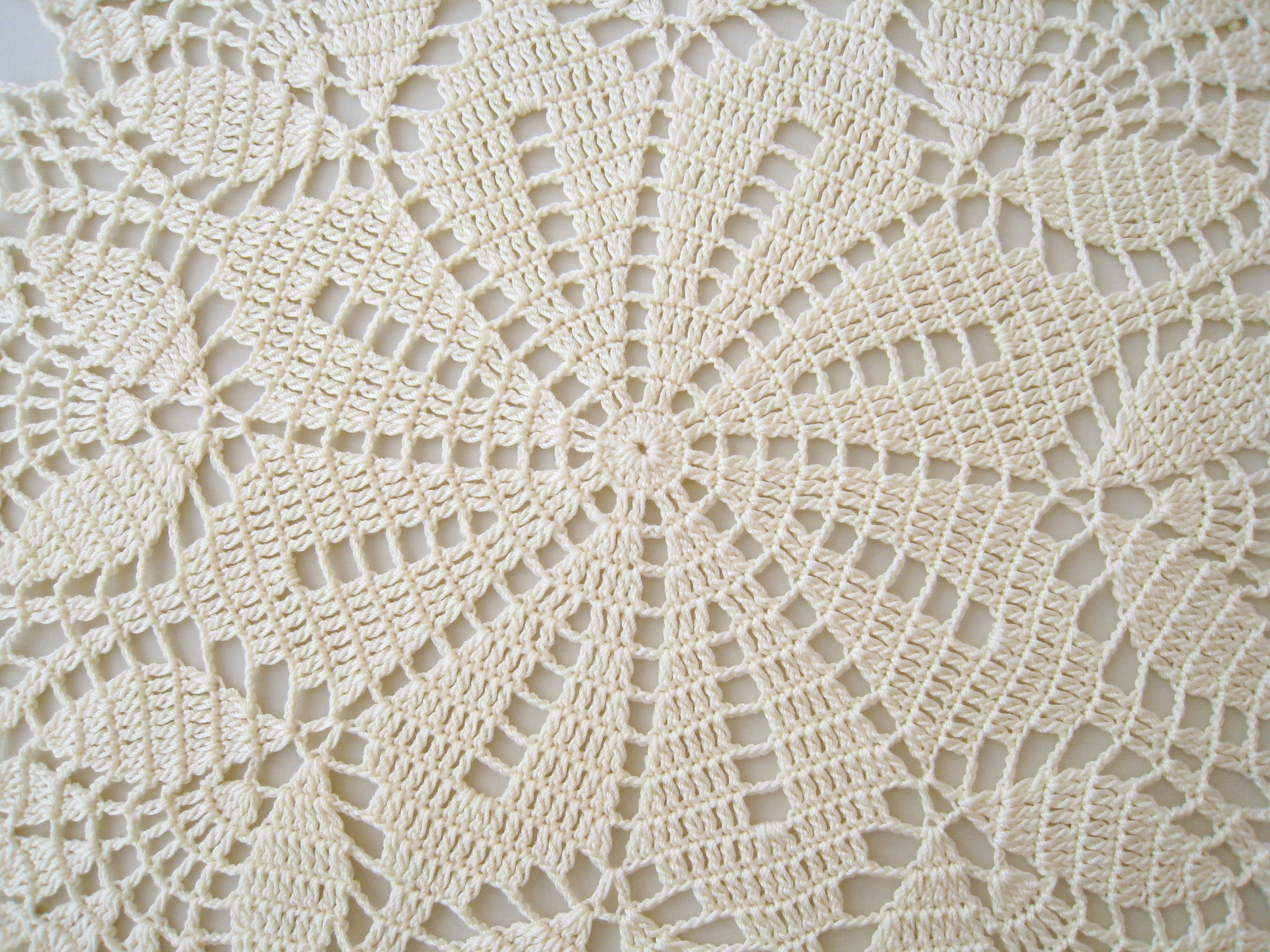 Doily Tablecloth Fresh Dosymphony Crochet Doily Cream Tulip Flower Lace Of Charming 49 Pictures Doily Tablecloth