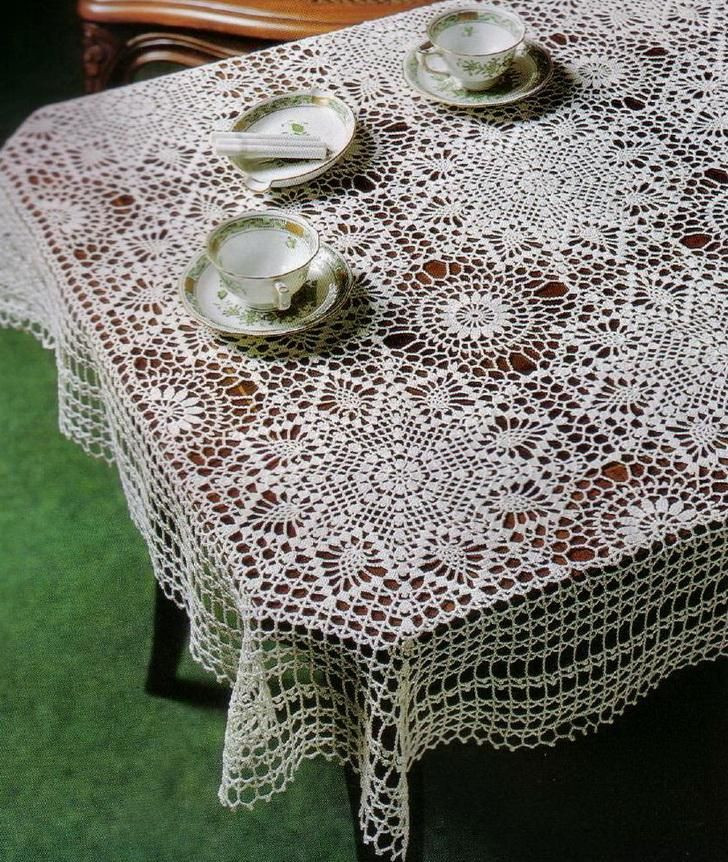 Doily Tablecloth Inspirational 175 Best Images About Crochet Doilies Tablecloths and Of Charming 49 Pictures Doily Tablecloth