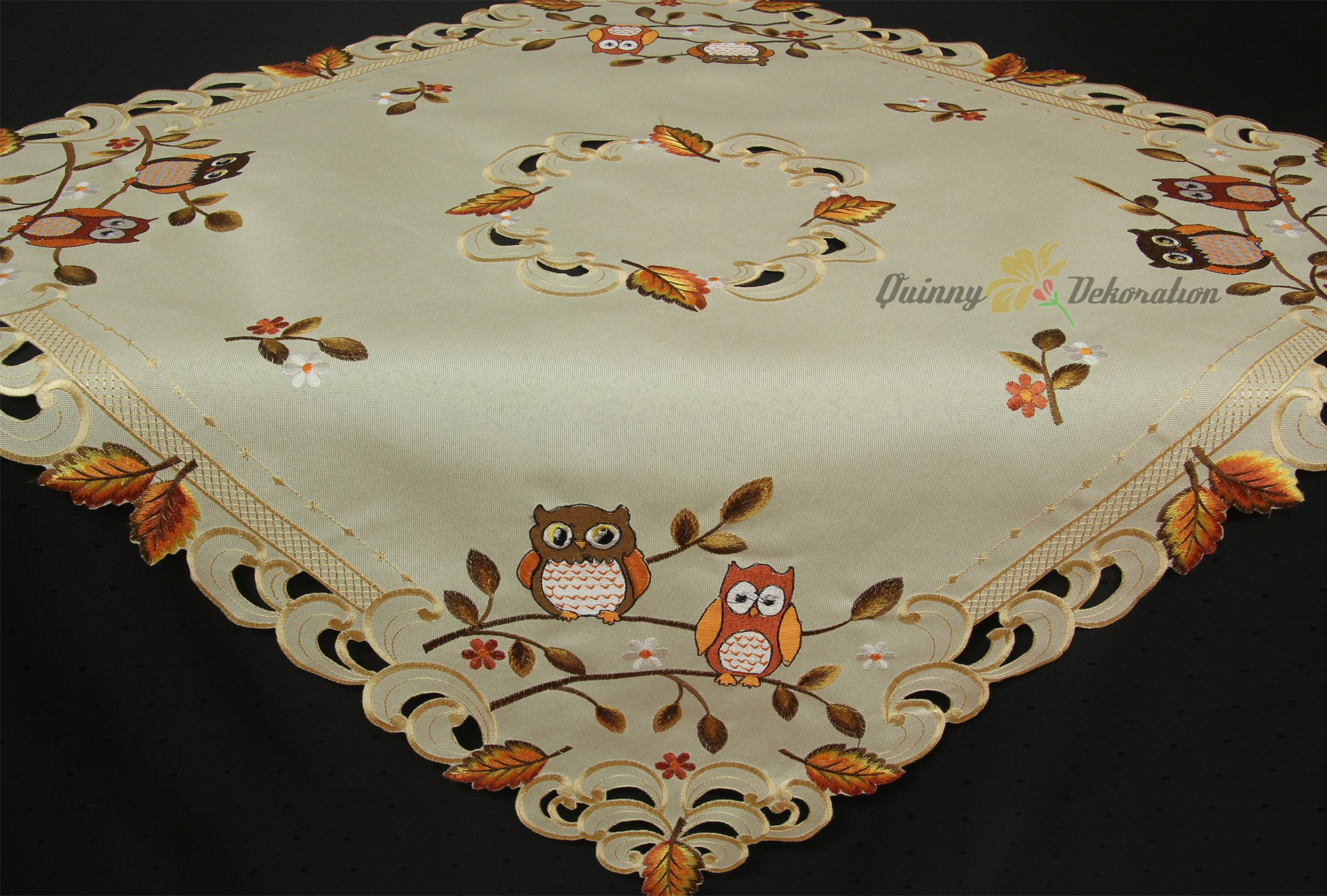 Doily Tablecloth Inspirational Owl Tablecloth Table Runner Doily Cushion Cover Linen Look Of Charming 49 Pictures Doily Tablecloth