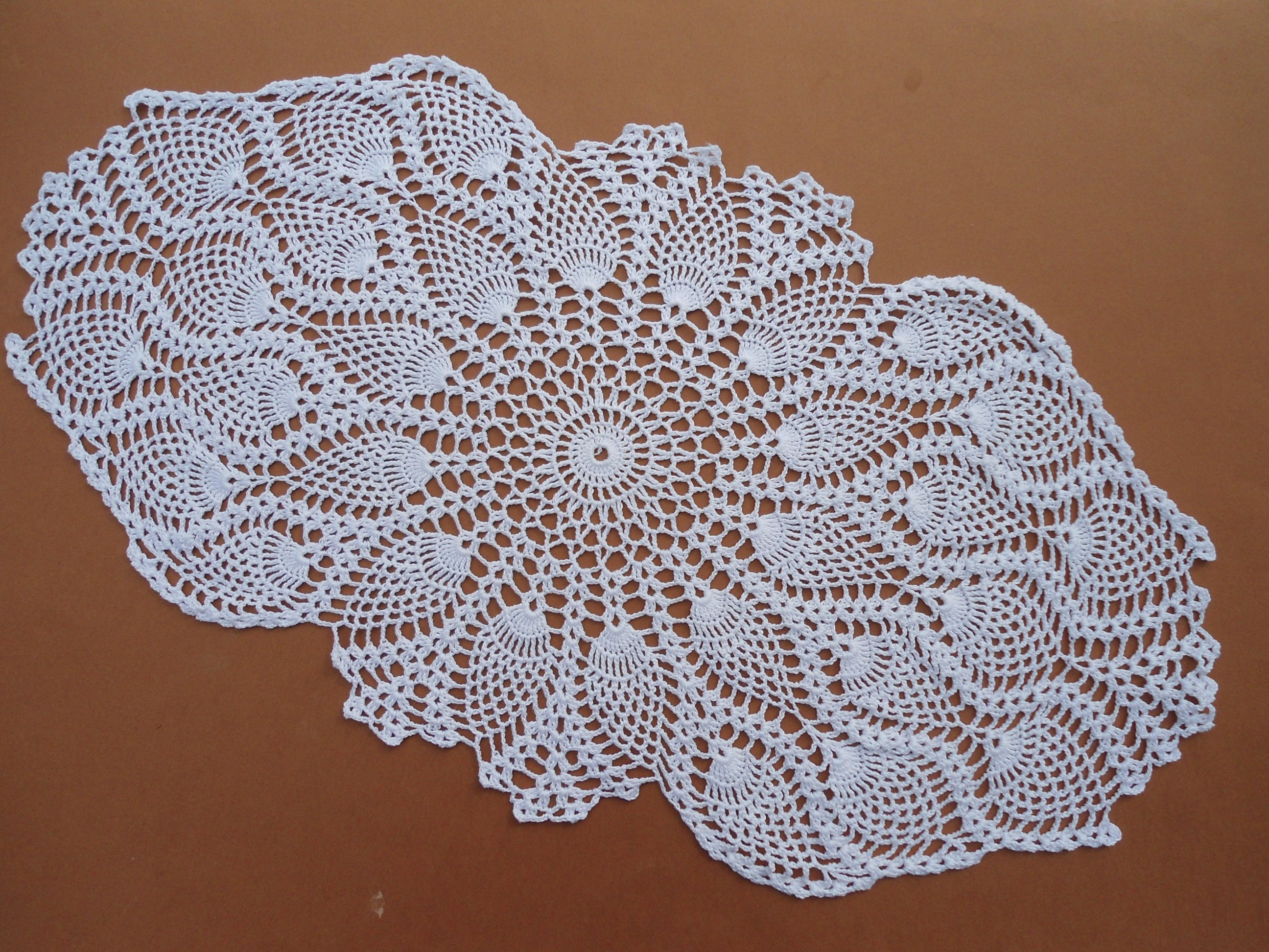 Doily Tablecloth Lovely Oval Crochet Doily Crochet Table Runner White Crochet Of Charming 49 Pictures Doily Tablecloth