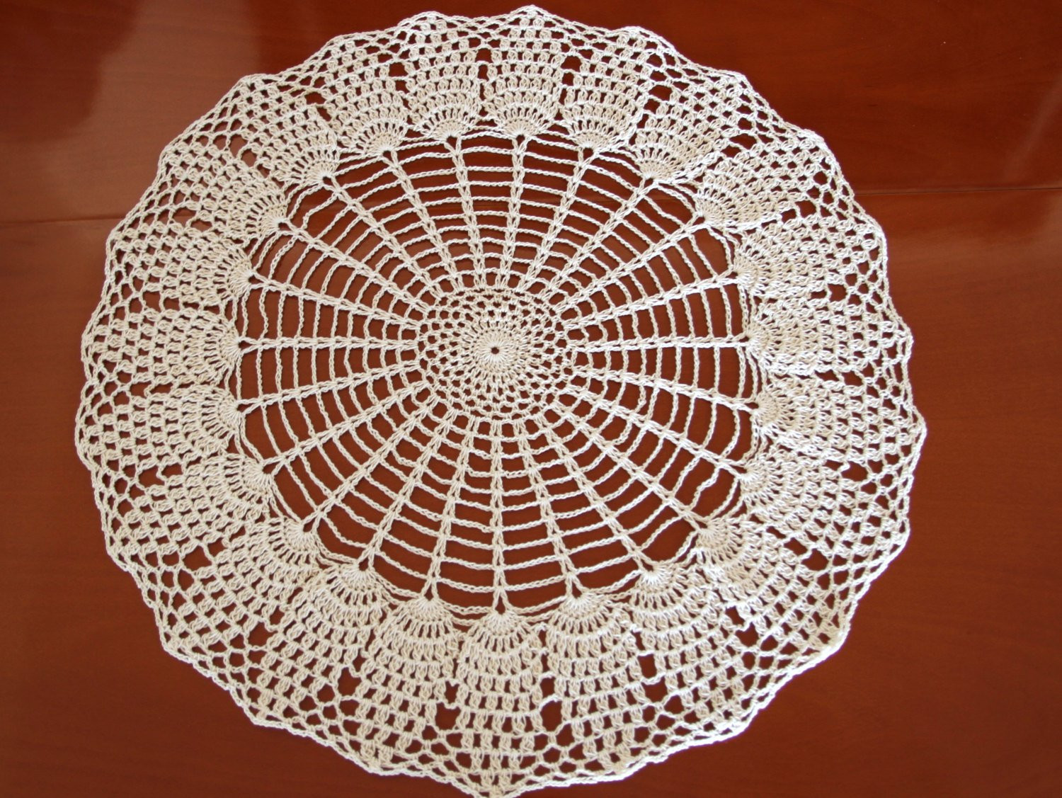 Doily Tablecloth New Crochet Round Pineapple Doily Pattern Pdf Tutorial Vintage Of Charming 49 Pictures Doily Tablecloth