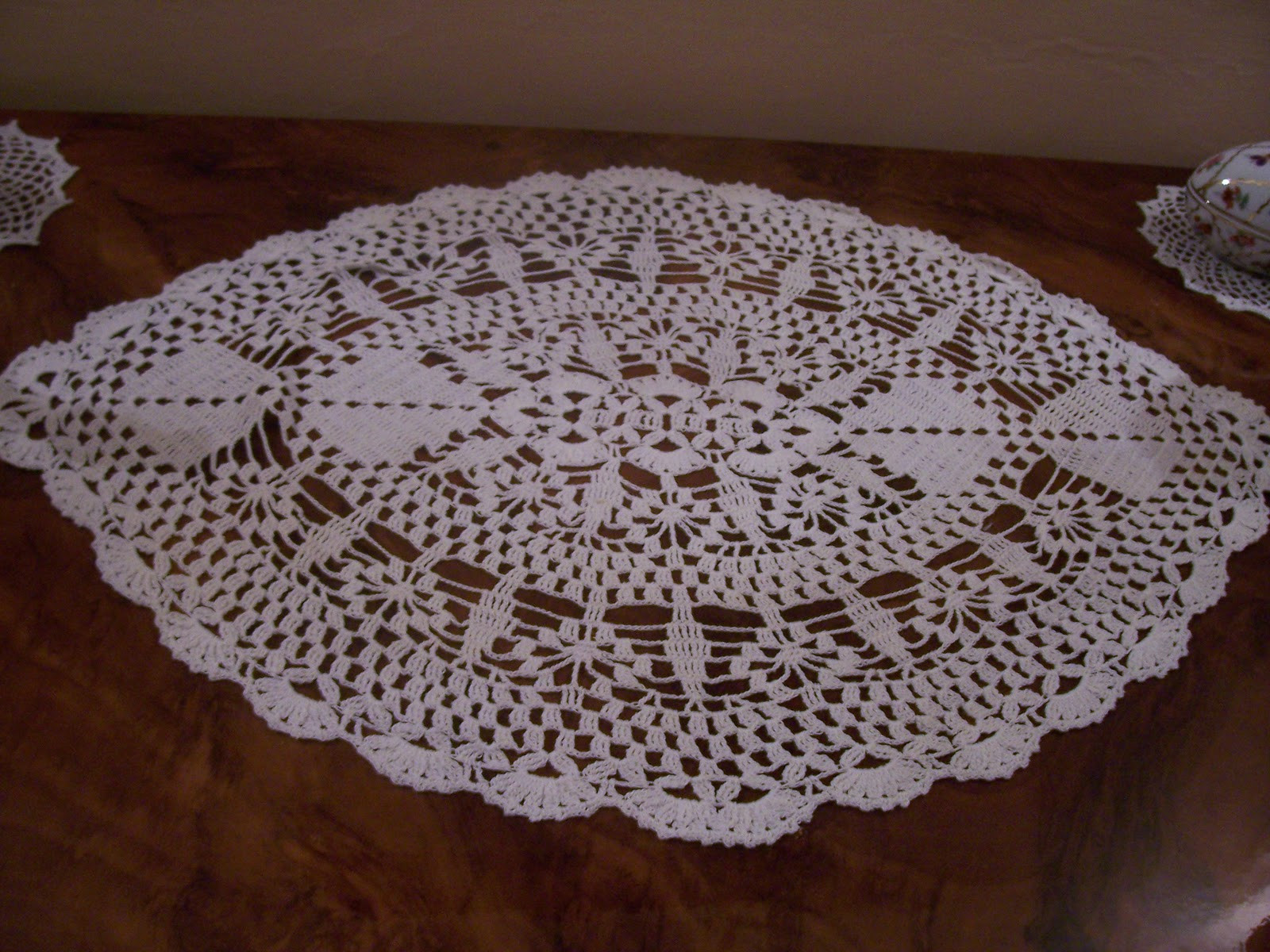 Doily Tablecloth New Oval Flower Doily Crochet Pattern Of Charming 49 Pictures Doily Tablecloth