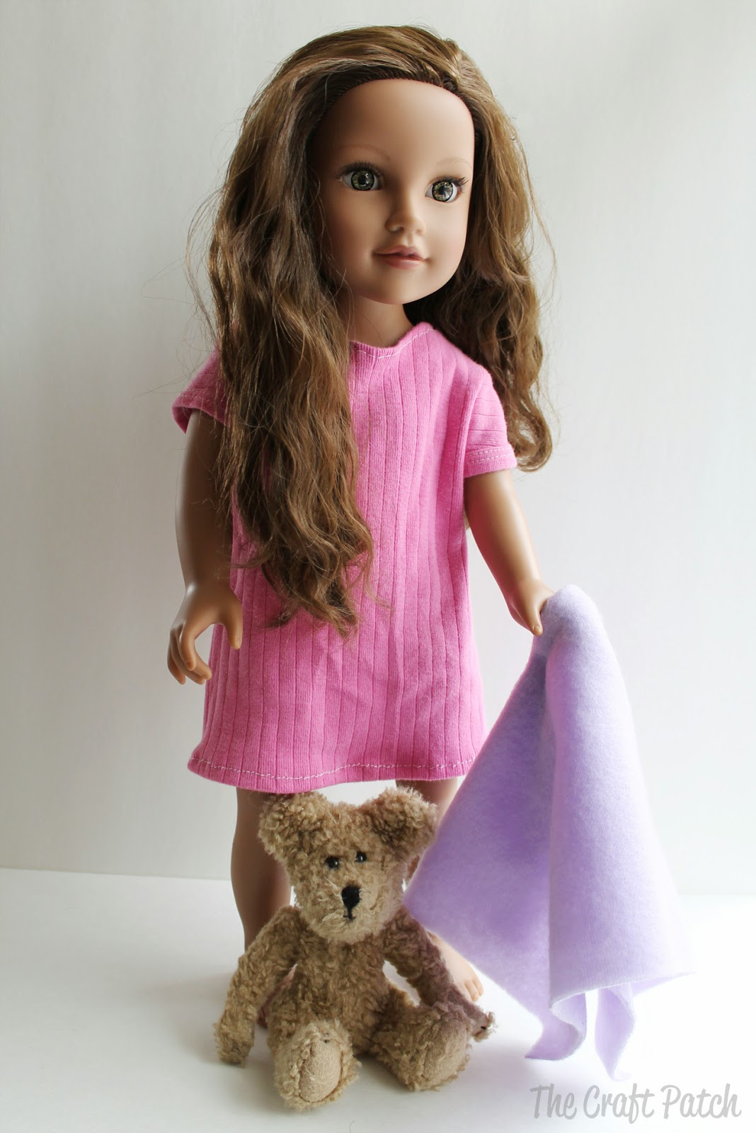 Doll Clothes Patterns Best Of American Girl Doll Basic Knit Dress Pattern and Tutorial Of Great 43 Models Doll Clothes Patterns