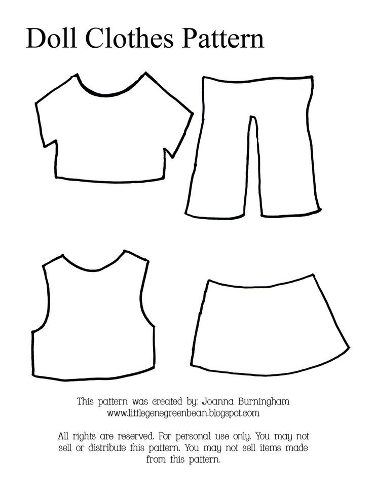 Doll Clothes Patterns Lovely Free Printable Doll Clothes Patterns Of Great 43 Models Doll Clothes Patterns