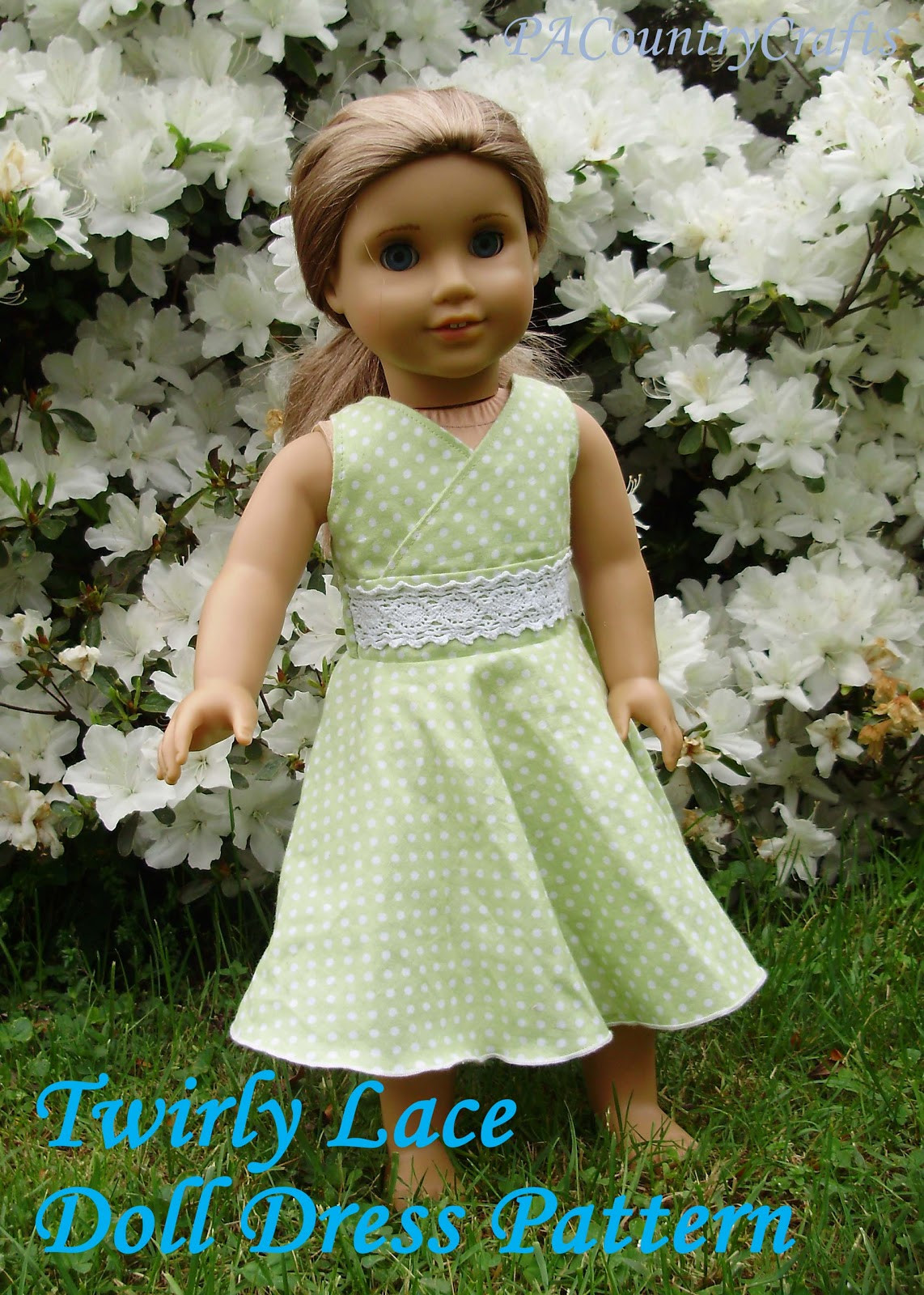 Doll Clothes Patterns New Twirly Lace Doll Dress Pattern Of Great 43 Models Doll Clothes Patterns