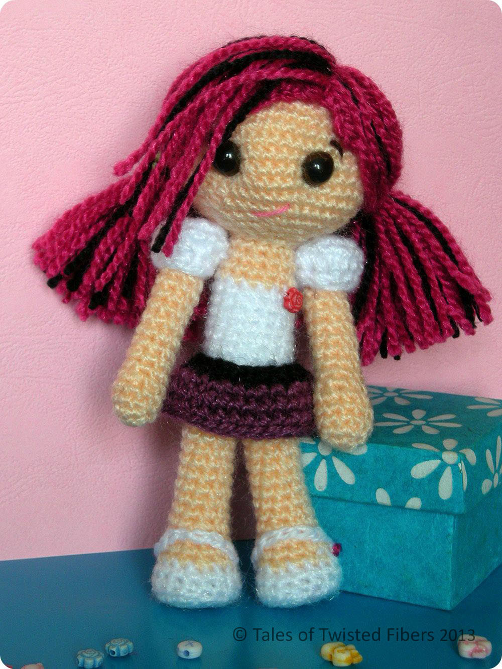 "Doll Patterns Beautiful Amy the Amigurumi Doll Free Pattern – Tales Of Twisted Fibers Of Doll Patterns Inspirational 12"" Doll Crochet Pattern Mamacheemamachee"