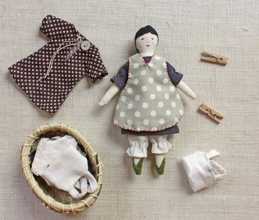 Doll Patterns Elegant Tiny Rag Doll and Wardrobe Pattern – Ann Wood Handmade Of Doll Patterns Unique Knitting Patterns Dolls Clothes
