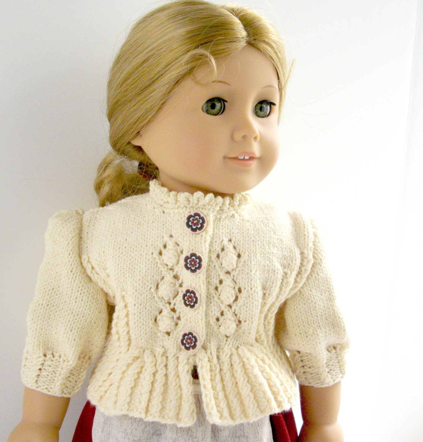 "Doll Patterns Fresh American Girl Doll 18 Gotz Doll Knitting Pattern Folk Of Doll Patterns Inspirational 12"" Doll Crochet Pattern Mamacheemamachee"