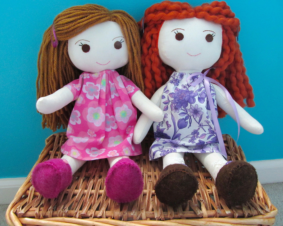 Doll Patterns Lovely Wee Wonderfuls – Sewing Rag Dolls Of Charming 50 Models Doll Patterns