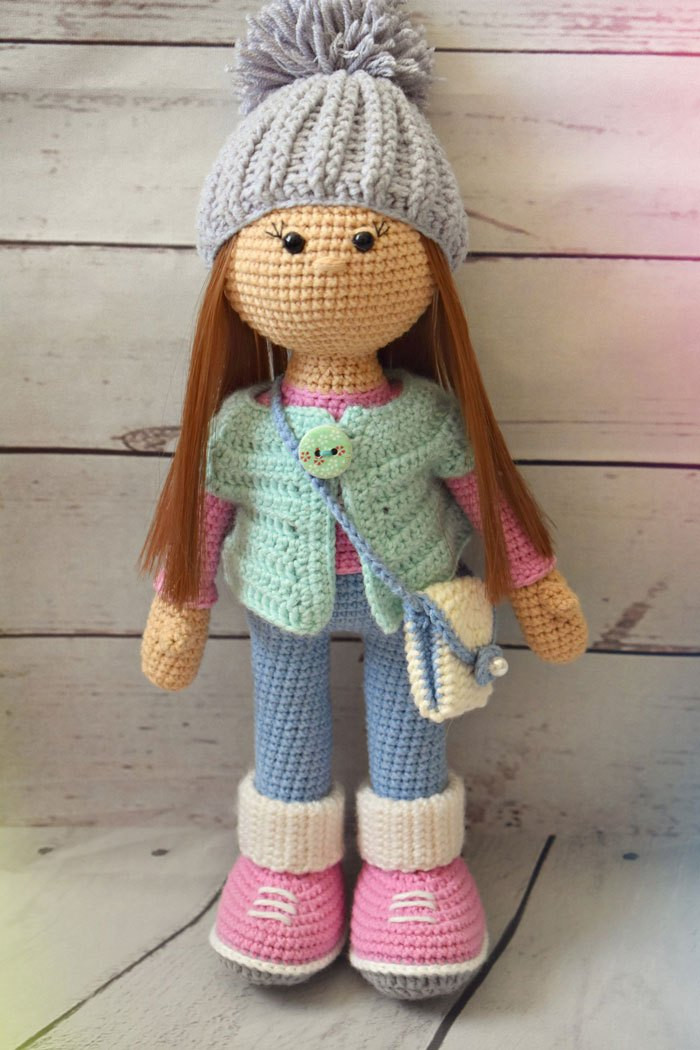 Doll Patterns Luxury Amigurumi Molly Doll Free Pattern Amigurumi Free Patterns Of Doll Patterns Best Of Gingermelon Dolls My Felt Doll Knitted Outfit Patterns