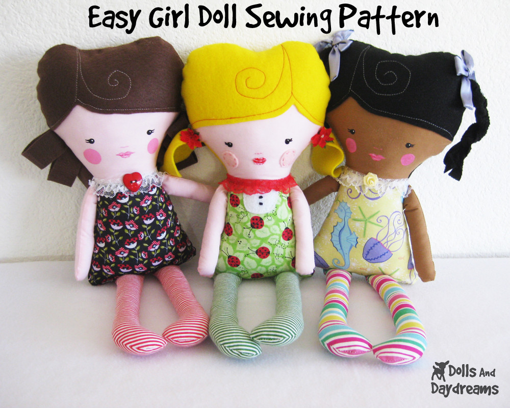 Doll Patterns Unique Dolly Donations My New Easy Girl Doll Pattern Of Charming 50 Models Doll Patterns