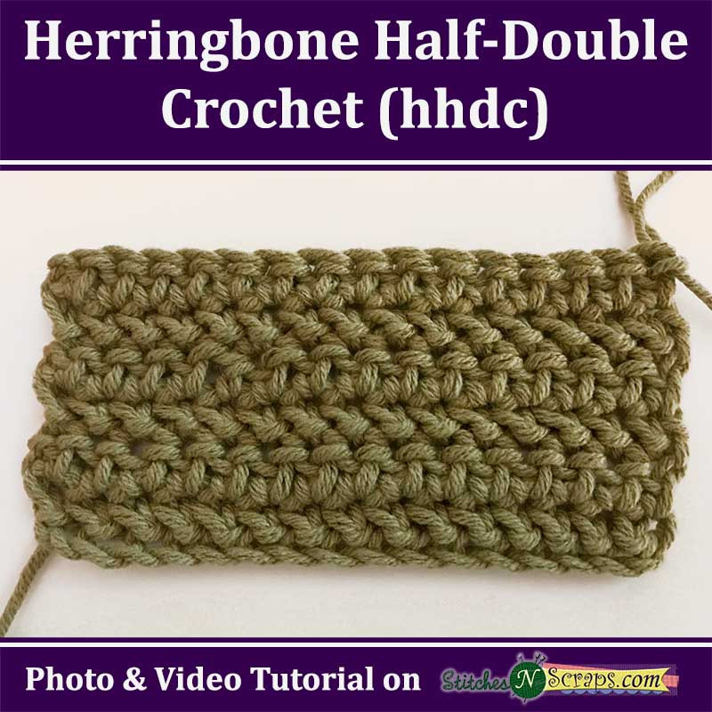 Double Crochet Stitch Awesome Tutorial Herringbone Half Double Crochet Hhdc Of Awesome 41 Pictures Double Crochet Stitch