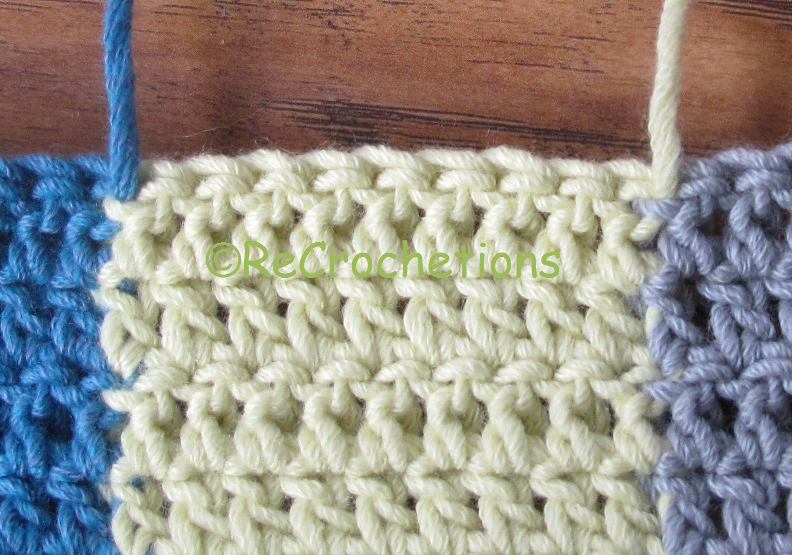 Double Crochet Stitch Elegant Recrochetions Reversible Intarsia Half Double Crochet Of Awesome 41 Pictures Double Crochet Stitch