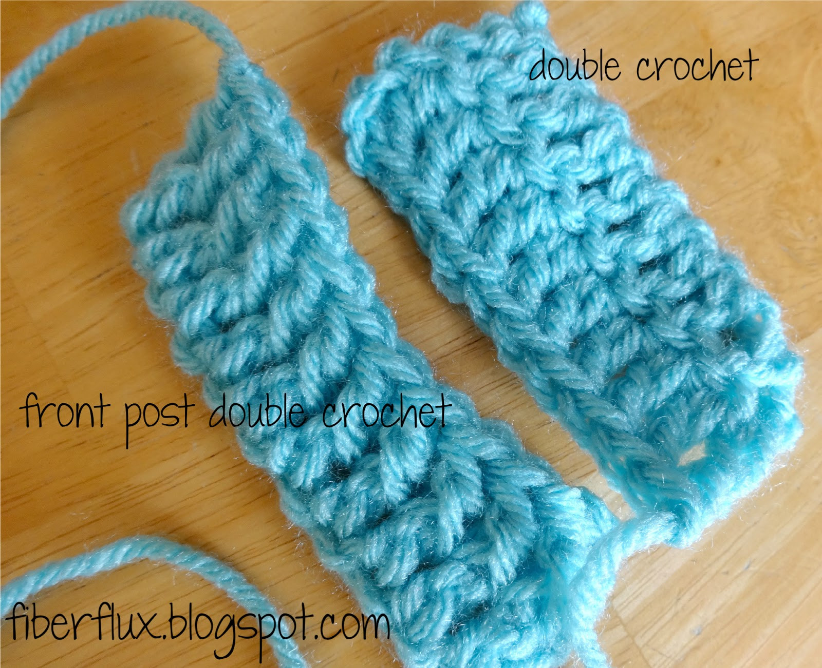 Double Crochet Stitch Fresh Fiber Flux How to Work the Front Post Double Crochet Of Awesome 41 Pictures Double Crochet Stitch