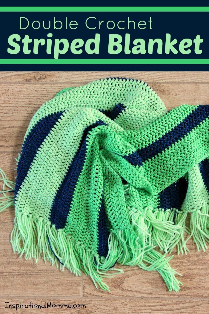 Double Crochet Stitch Lovely Double Crochet Striped Blanket Of Awesome 41 Pictures Double Crochet Stitch
