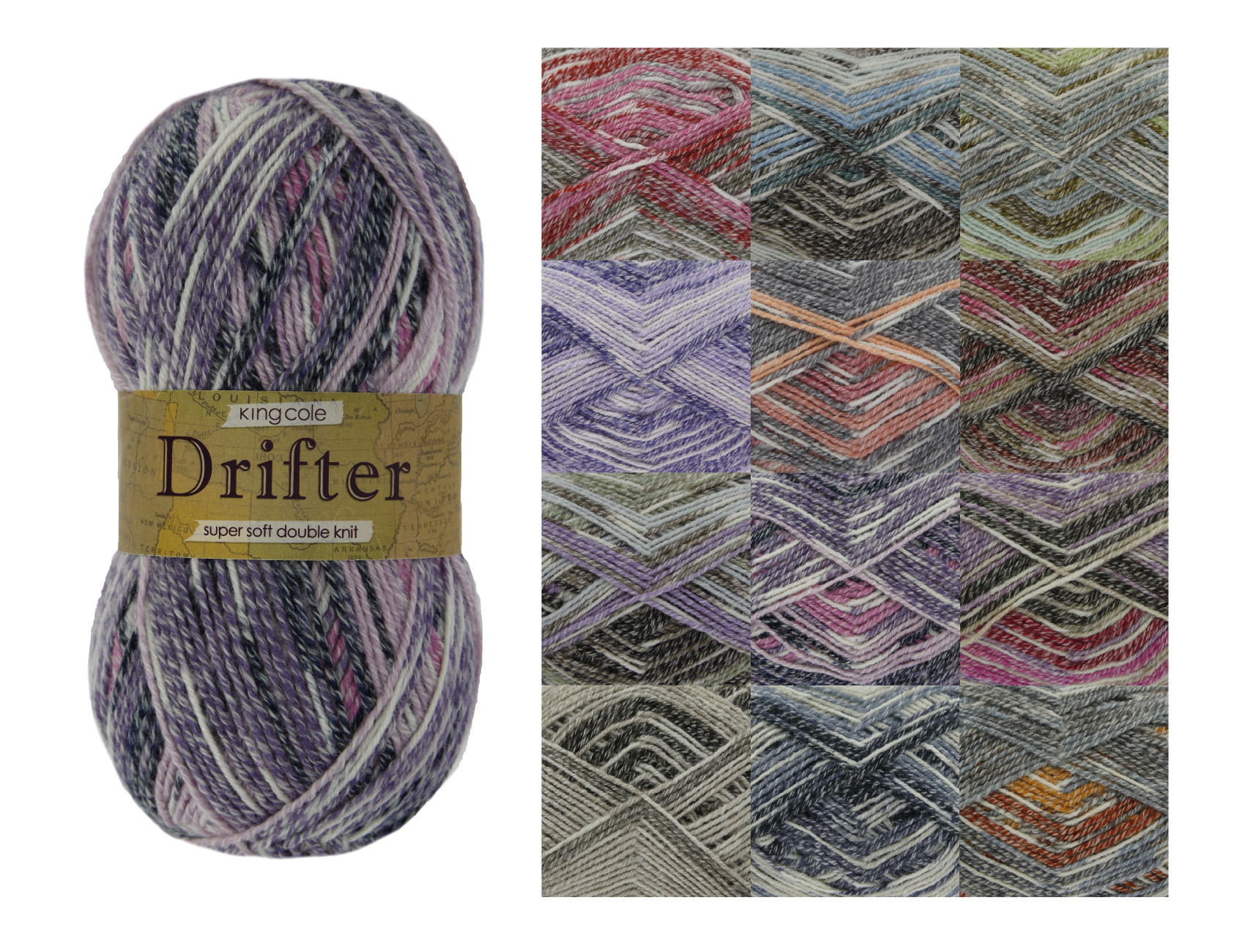 Double Knit Yarn Unique King Cole Drifter Double Knit Yarn Super soft Acrylic Of Incredible 41 Models Double Knit Yarn