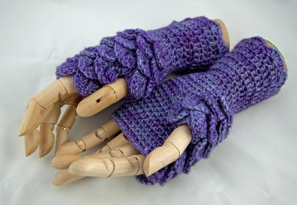 Dragon Scale Crochet Gloves Elegant Dragonscale Gloves Crochet Pattern by Zarrinhandmade Of Dragon Scale Crochet Gloves Inspirational Dragon Scale Crocheted Gloves