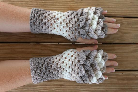 Dragon Scale Crochet Gloves Fresh Dragon Gloves Dragon Scale Fingerless Gloves Crochet Of Dragon Scale Crochet Gloves Inspirational Dragon Scale Crocheted Gloves