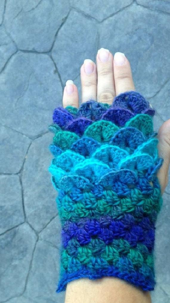 Dragon Scale Crochet Gloves Lovely Dragon Scale Fingerless Gloves Dragon Scale Gloves Crochet Of Dragon Scale Crochet Gloves Luxury Crochet Pattern Erebor Dragon Scale Fingerless Gloves Dragon
