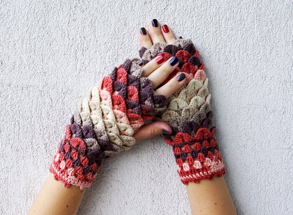 Dragon Scale Gloves Awesome Fingerless Gloves Fingerless Mittens Knit Gloves Boho Glove Of Amazing 46 Pictures Dragon Scale Gloves