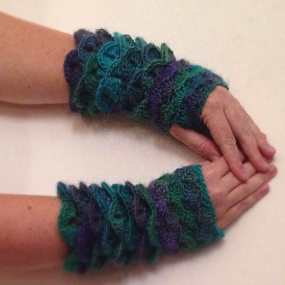 Dragon Scale Gloves Crochet Pattern Awesome Crochet Gloves Pattern Dragon Scale Crochet Pattern Of Adorable 43 Photos Dragon Scale Gloves Crochet Pattern