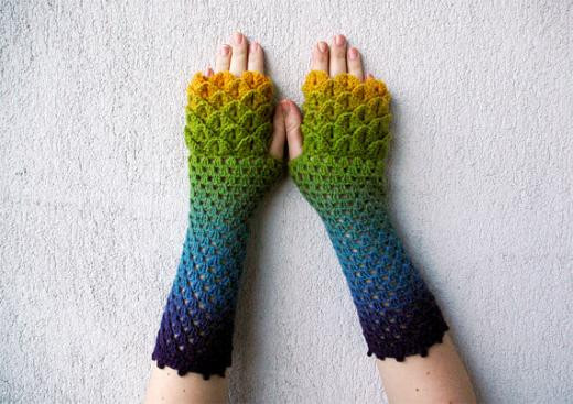 Dragon Scale Gloves Crochet Pattern Awesome New Dragon Scale Crochet Gloves Pattern Of Adorable 43 Photos Dragon Scale Gloves Crochet Pattern
