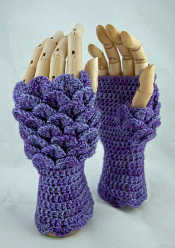Dragon Scale Gloves Crochet Pattern Awesome Pattern Crochet Dragonscale Fingerless Gloves by Of Adorable 43 Photos Dragon Scale Gloves Crochet Pattern