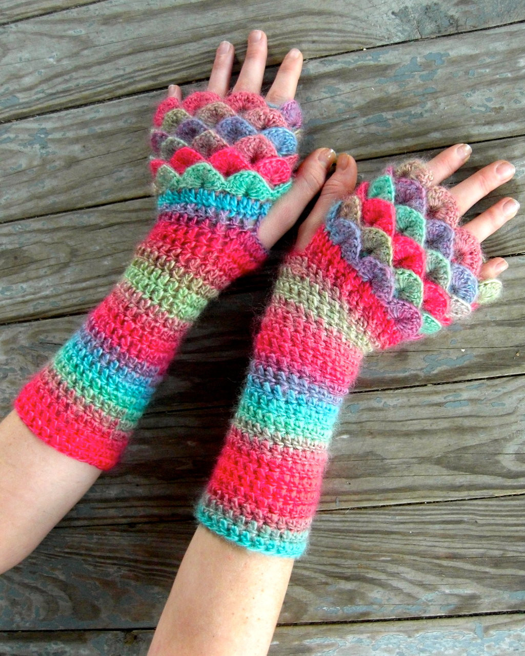 Dragon Scale Gloves Crochet Pattern New Fae Dragon Gloves by thecrochetdragon On Deviantart Of Adorable 43 Photos Dragon Scale Gloves Crochet Pattern
