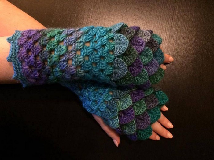 Dragon Scale Gloves Fresh Dragon Scale Finger Less Crochet Gloves Of Amazing 46 Pictures Dragon Scale Gloves
