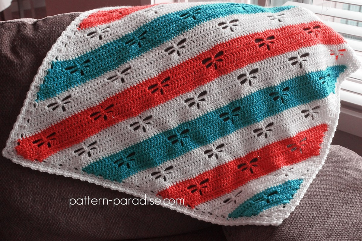Dragonfly Crochet Pattern Awesome Free Crochet Pattern Dragonfly C2c Throw Of Luxury 46 Pictures Dragonfly Crochet Pattern