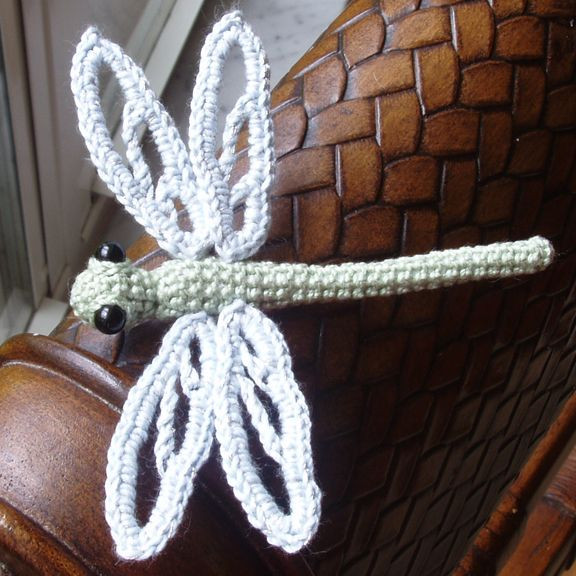 Crochet Dragonfly wish I could find this pattern