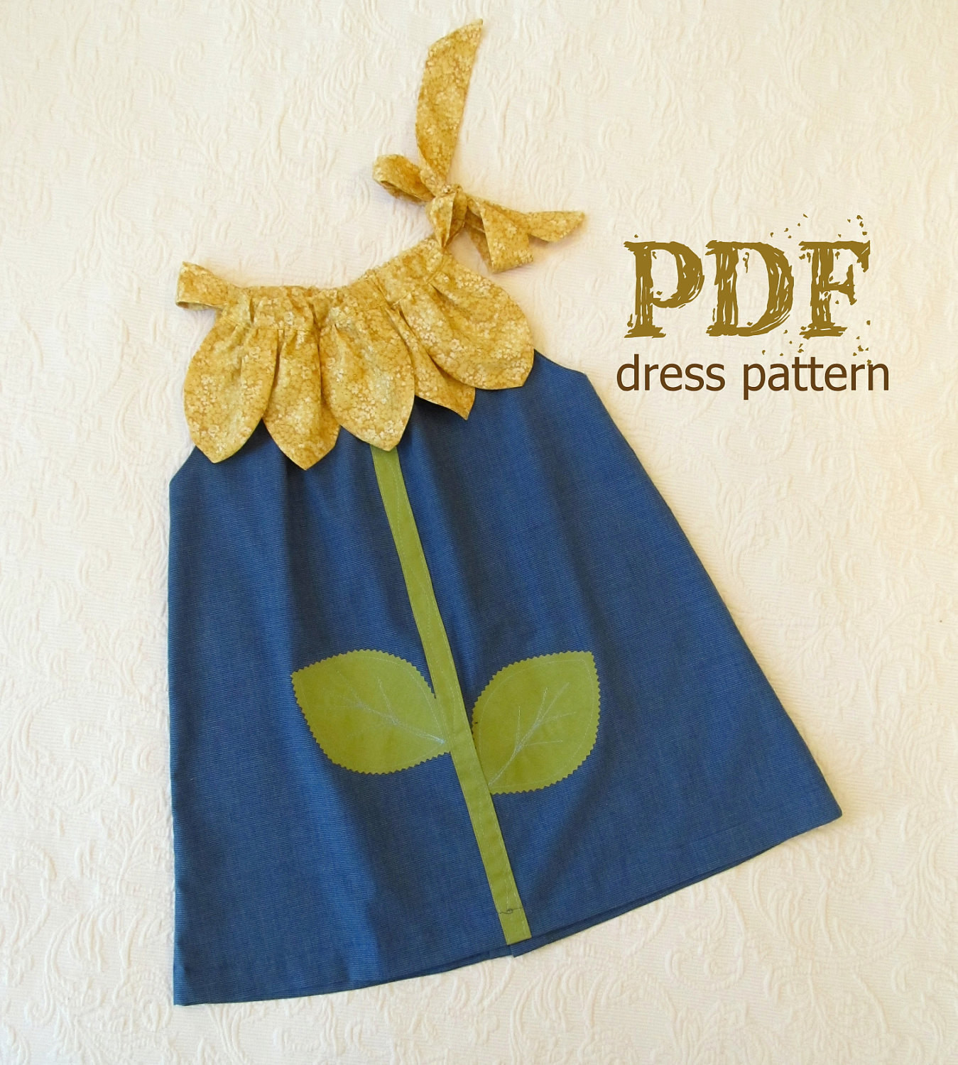 Dress Patterns for Girls Awesome Sunny Flower Pillowcase Dress Girl Sewing Pattern Pdf Of Unique 49 Pics Dress Patterns for Girls