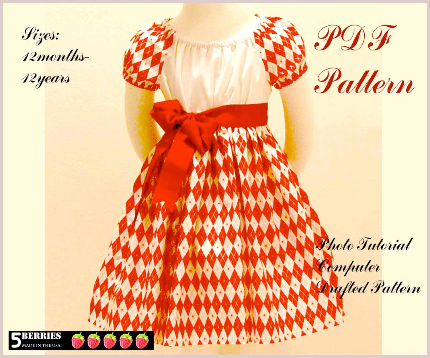 Dress Patterns for Girls Beautiful Olivia Peasant Dress Pattern Free Mother Daughter Apron Of Unique 49 Pics Dress Patterns for Girls