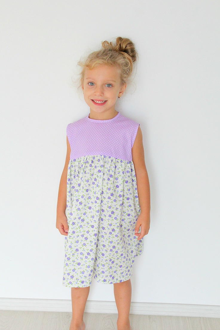 Dress Patterns for Girls Inspirational Easy Girls Gathered Dress Pattern Of Unique 49 Pics Dress Patterns for Girls