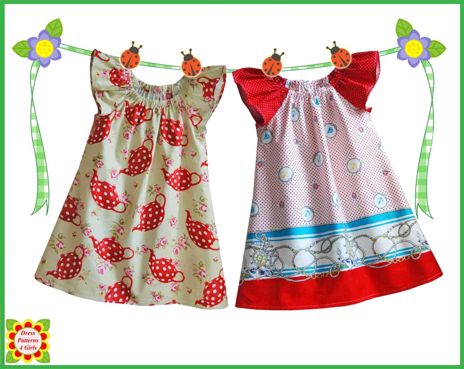 Dress Patterns for Girls Lovely Cecilia Sewing Pattern for Children Free Mother Daughter Of Unique 49 Pics Dress Patterns for Girls