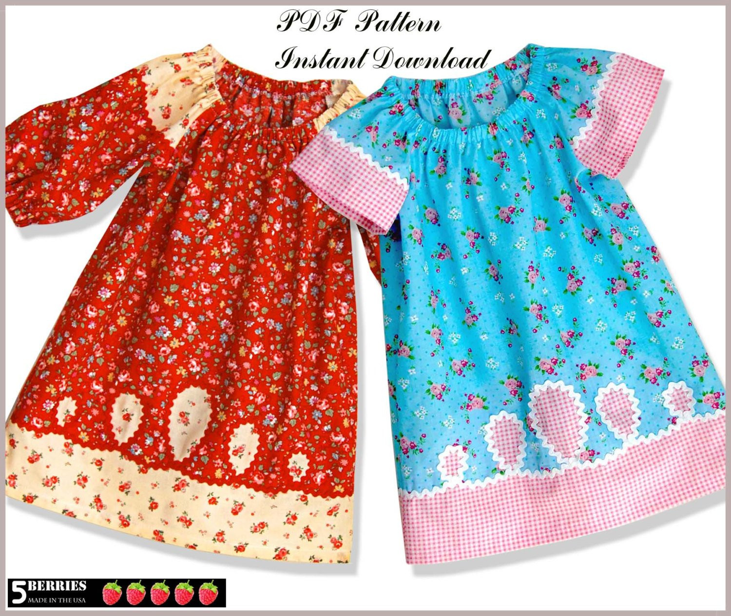 Dress Patterns for Girls Lovely Prairie Girl Peasant Dress Pattern Free Mother Daughter Of Unique 49 Pics Dress Patterns for Girls