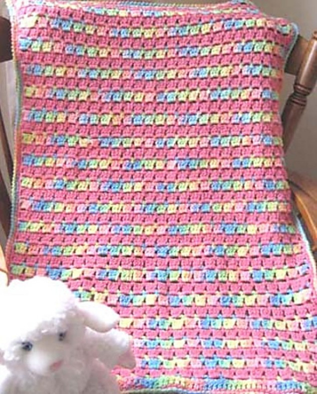 Easy Afghan Patterns Beautiful [free Pattern] Super Easy and so Precious Block Stitch Of Top 42 Photos Easy Afghan Patterns