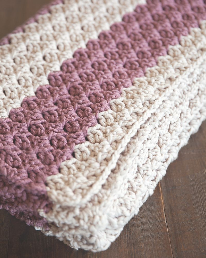 Easy Baby Afghan Crochet Patterns Luxury Chunky Crochet Throw by Leelee Knits Free Crochet Of Unique 42 Ideas Easy Baby Afghan Crochet Patterns