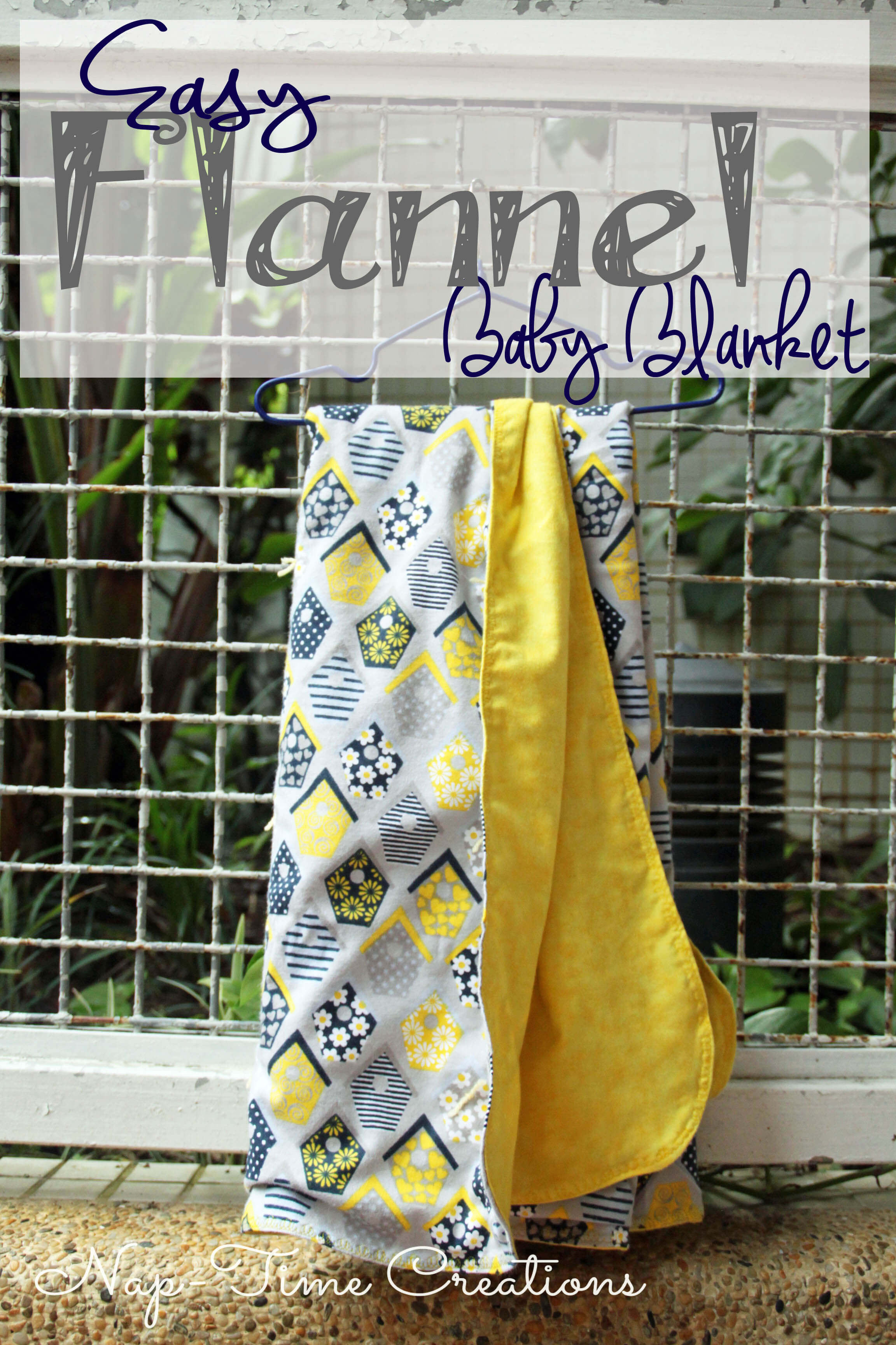 Easy Baby Blanket Inspirational Easy Baby Blanket Sewing Tutorial Nap Time Creations Of Marvelous 42 Images Easy Baby Blanket